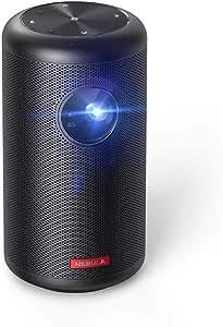 Anker Nebula Capsule II(世界初 Android TV搭載 モバイルプロジェクター)【200ANSI ルーメン / オートフォーカス機能 / 8W スピーカー / DLP搭載 / 5000種類以上のアプリケーション / ホームエンターテインメント】