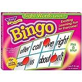 トレンド 英単語 ビンゴゲーム 目で見て学ぶことば Trend Sight Words Level 2 Bingo Game T-6076