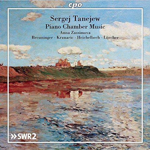 セルゲイ・イヴァノヴィチ・タネーエフ:室内楽曲集(Taneyev:Piano Chamber Music)[2CDs]