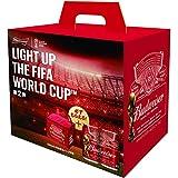 【W杯デザイン保冷バッグ付】バドワイザー FIFA WORLD CUP BOX 350ml×6本