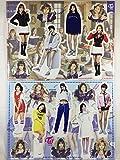 TWICE (トゥワイス)/ミニチュア 等身大パネル(卓上スタンドPOP/ミニパネル)セット - Standing Paper Doll (TradePlace K-POPグッズ/韓国製)