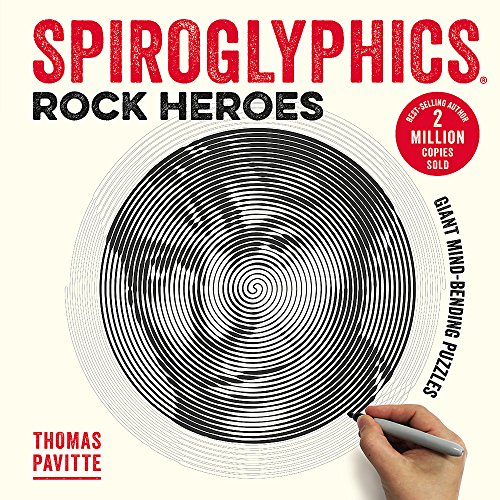 Spiroglyphics: Rock Heroes: Colour and reveal your...