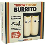 Throw Throw Burrito by Exploding Kittens - A Dodgeball Card Game - Family Card Game - Card Games for Adults, Teens & Kids