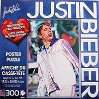 Justin Bieber 300ピースジグソーパズルポスターin Concert
