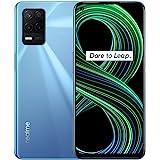 Realme 8 5G + 4G Volte GSM Unlocked Global USA Latin Europe Octa Core 48MP Triple Camera (NOT Verizon/Boost/CDMA) (Blue Super