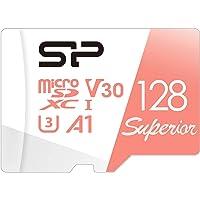 シリコンパワー microSD カード 128GB class10 UHS-1 U3 対応 4K 録画 3D Nand…