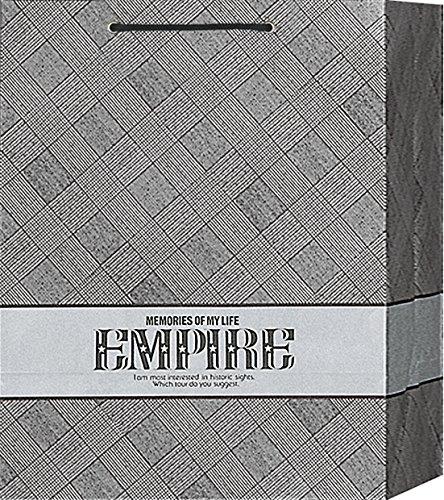 ビニールかぶせの紙袋 エルワイドデラックス 601 1セット10枚 W35cm×D23cm×H45cm