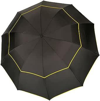 折り畳み傘 耐久性 高級のファブリック 高強度グラスファイバー10本骨 130cm 撥水加工 防雨