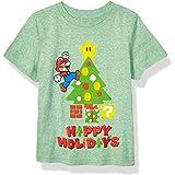 Nintendo Boys' Little Mario Christmas Tree T