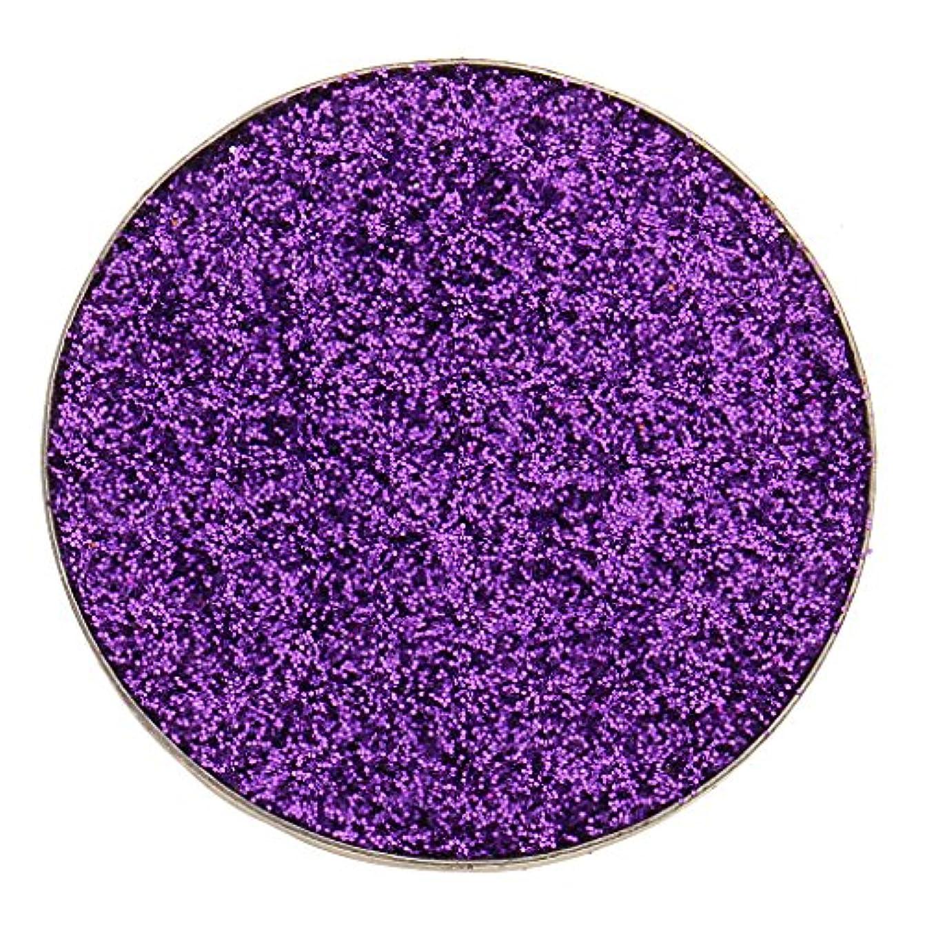 卒業上院等全5色 ダイヤモンド キラキラ シマー メイクアップ アイシャドウ 顔料 長持ち 滑らか - 紫