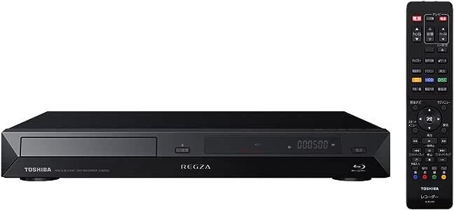 東芝 320GB 2チューナー ブルーレイレコーダー D-BZ500