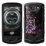 「Breeze-正規品」iPhone ・ スマホケース ポリカーボネイト [透明-Purple] トルク カバー TORQUE[G02]
