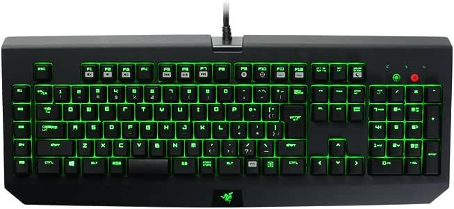 Razer BlackWidow Ultimate 2014-JP 日本語配列版 緑軸 ゲーミングキーボード 【正規保証品】 RZ03-00384700-R3J1