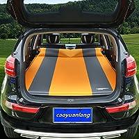 トランクカーインフレータブルマットレスフォールディングトラベルベッドアップグレードモデルフルフィット5 Cmオレンジ(多色オプション)
