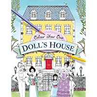 Color Your Own Doll's House