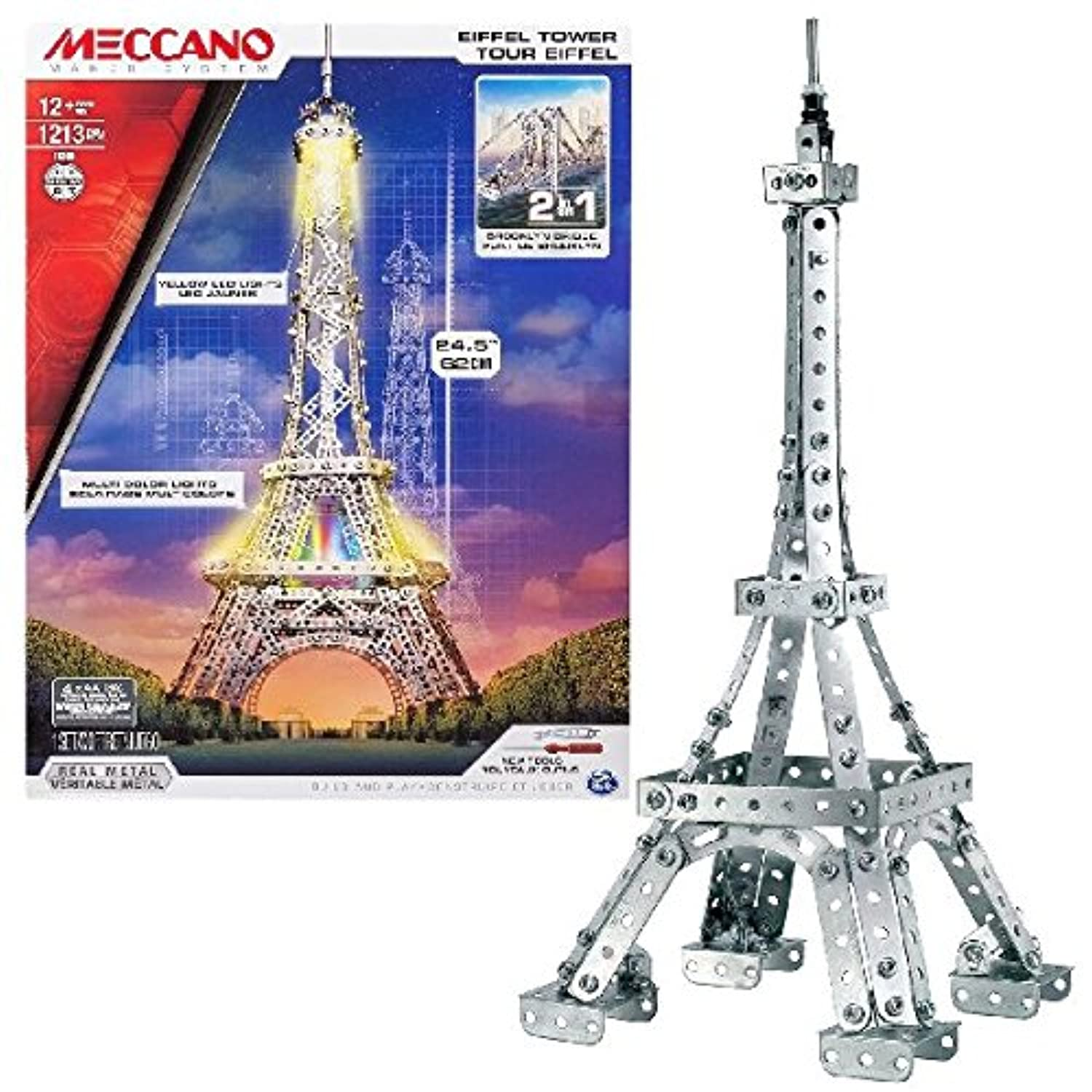 Meccano Eiffel Tower Construction Set