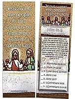 7/52 Bible Study?? for Children イエスは自分の教会で自分が思い出されることを望む - カード25枚入りパック