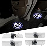 4PCS Aukur Logo Projector Car Door LED Lighting Entry Projector for Nissan