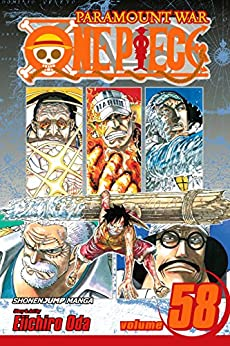 "One Piece, Vol. 58: The Name of This Era Is ""Whitebeard"" (One Piece Graphic Novel) by [Oda, Eiichiro]"