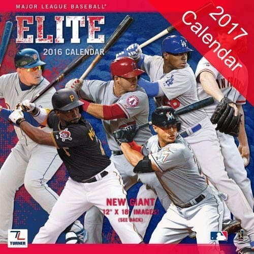 Major League Baseball Elite 2017 Calendar