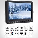 7インチ VBESTLIFE 4K HDMI高精細 ビデオモニター HDモニターカメラモニター 1100:1 HDモニター 450cd /㎡ 液晶モニター 一眼レフカメラ撮影用