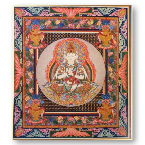 [해외]불화 색종이 대일 여래/Buddhist picture paper Dainichi Nigori