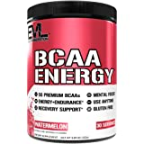 Evlution Nutrition BCAA Energy - High Performance Energizing Amino Acid Supplement For Muscle Building, Recovery And Enduranc