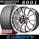 19インチ 4本セット サマータイヤ&ホイール BRIDGESTONE POTENZA 245/40R19 BBS