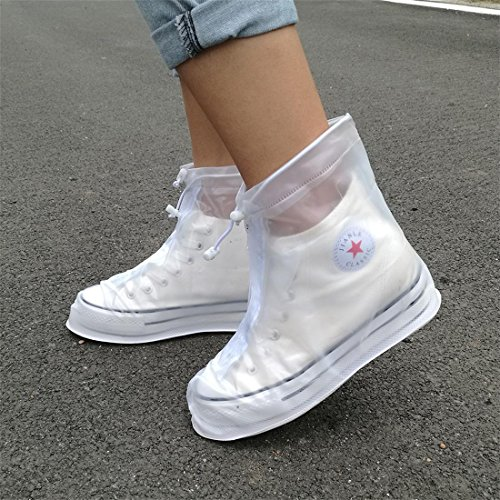 Sawors 男女兼用 シューズカバー 雨用靴カバー 携帯可ブーツ 雪 梅雨対策 レインブーツ 防水 靴 レインカバー お手入れ簡単 通勤 通学にレインシューズ ブーツ 全て6色、6サイズ