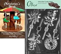 Cybrtrayd 「アソートロリーズ」クリスマスチョコレートキャンディ型 チョコレートガイド