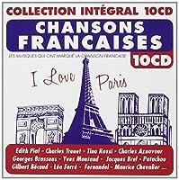 CHANSONS FRANCAISES - I love paris (collection intégral) (10 CD)