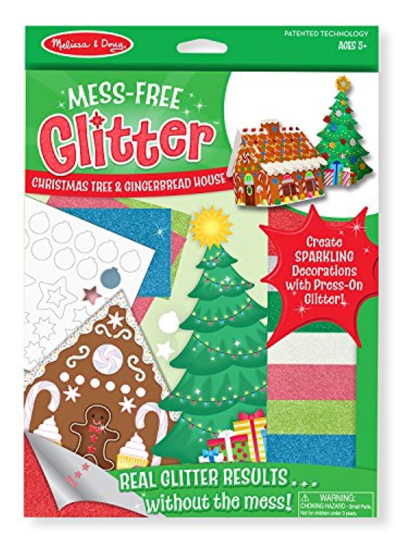 Melissa & Doug mess-freeキラキラクリスマスツリーとGingerbread House
