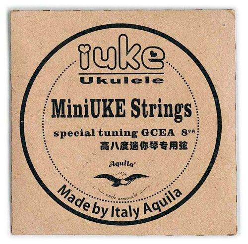 iUke アイユーク  ピッコロウクレレ専用弦 Aquilaナイルガット製 SR-IUKE
