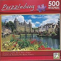 Puzzlebug 500Piece Puzzle ~ジョスラン城、Oust川、フランス