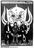 "Motörhead Poster ""Harrow Road, London 1979"" (59,5cm x 84cm)"