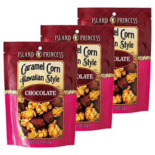 ハワイ 土産 キャラメルチョコレートポップコーン 3袋 (海外旅行 ハワイ お土産)