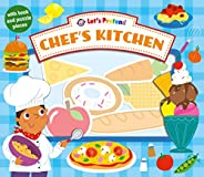 Let's Pretend Chef's Kitchen: With Book and Puzzl