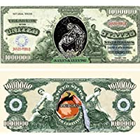 Set of 10 Bills-Aquarius Million Dollar Bill by Novelties Wholesale [並行輸入品]