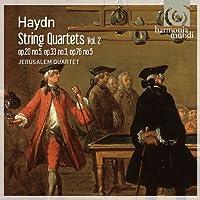 ハイドン : 弦楽四重奏曲集 (Haydn : String Quartets Vol.2 - op.20 no.5, op.33 no.3, op.76 no.5 / Jerusalem Quartet) [輸入盤]
