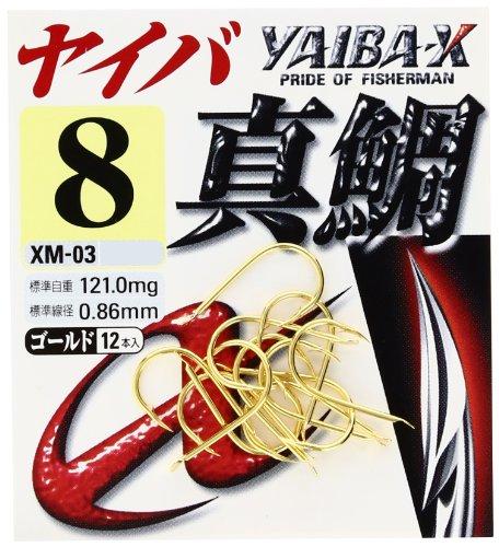 ささめ針(SASAME) ヤイバ 真鯛 ゴールド XM-03 11号