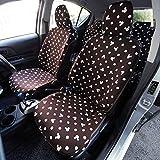 [ベルメゾン] ディズニー ウレタンシート貼りの車種専用カーシートカバーセット ミッキーマウス ブラウン タイプ:ノア・ヴォクシーB
