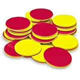 Learning Resources LER7566 Two-Color Counters, Set of 200 Red and Yellow 1 in