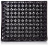 [ノイインテレッセ] シャッテン 2つ折り財布(外BOX小銭入れ付) 3873 クロ×ネイビー クロ×ネイビー