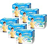 Nepia Genki Premium Soft Pants L30, L, 180 count (Pack of 6)