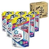 【ケース販売】 アリエール 洗濯洗剤 液体 イオンパワージェルサイエンスプラス詰め替え 超ジャンボ1.62kg×6個