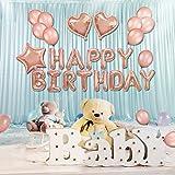 Ninana 誕生日 バルーン 風船、Happy Birthday バースデー 飾り バルーン、誕生日 パーティー 飾り付け バルーン