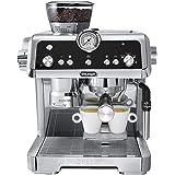 De'Longhi La Specialista, Espresso Coffee Machine, EC9335M, Silver, Consisten Coffee Grinding and Tamping, Easy Milk Frothing
