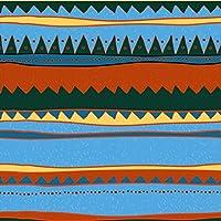 ポスター ウォールステッカー 正方形 シール式ステッカー 飾り 60×60cm Msize 壁 インテリア おしゃれ 剥がせる wall sticker poster チェック・ボーダー 青 ブルー 模様 007046