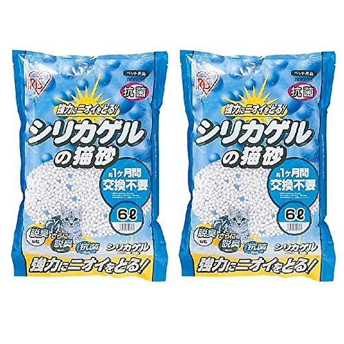 アイリスオーヤマ シリカゲルの猫砂 6L SGN-60