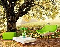Minyose 壁紙 カスタム3D壁紙中国風ムードインク風景壁壁リビングルームの寝室テレビソファフレスコ画3D壁紙